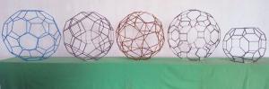 5 Poliedros Arquimedianos